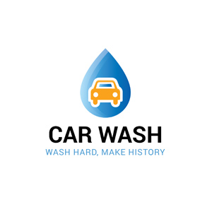 Choosing a great Car Wash Logo Design Samples